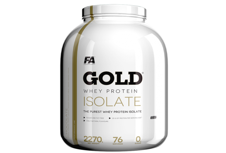 Fitness Authority Gold Whey Protein Isolate 2270 g Příchuť: Raspberry