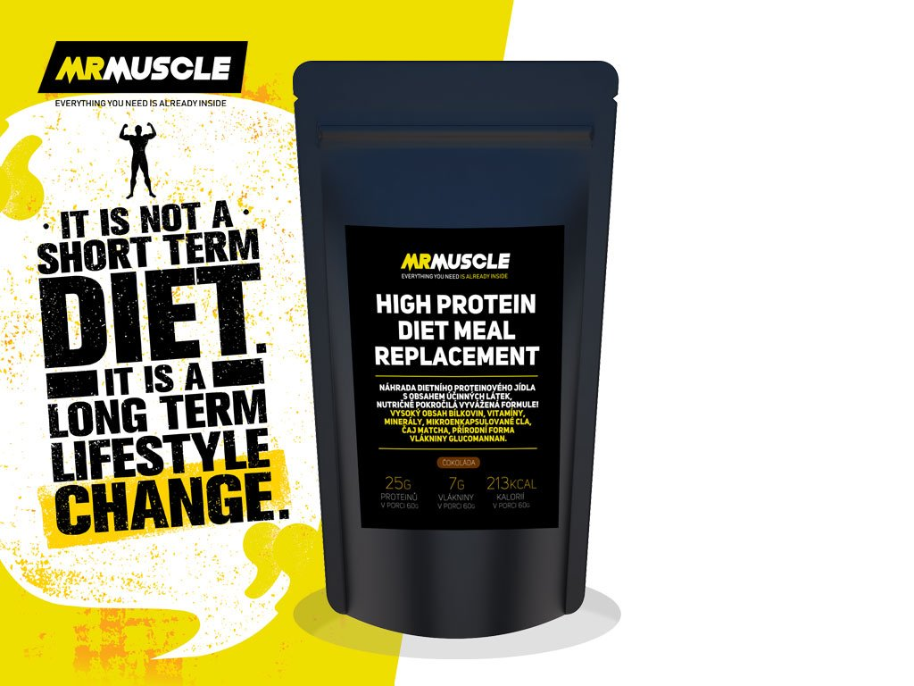 MR MUSCLE HIGH PROTEIN DIET MEAL REPLACEMENT VETSI BALENI5