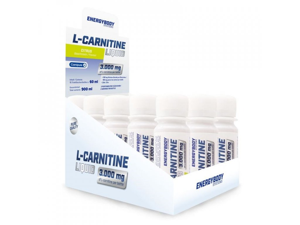 EnergyBody L-Carnitine Liquid 3000 mg 15 x 60 ml