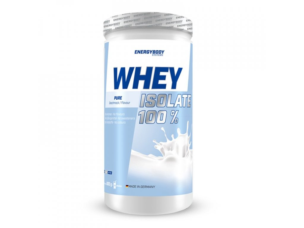 EnergyBody Whey Isolate 100% Pure 600 g
