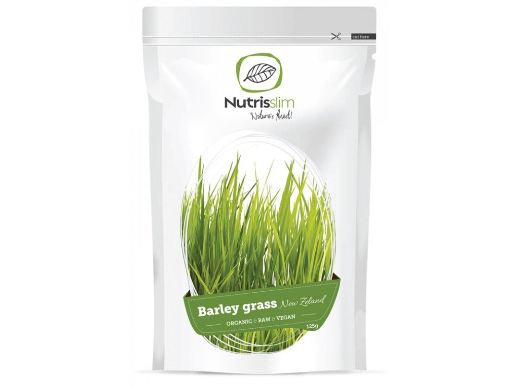 Nutrisslim Barley Grass Powder (New Zealand) 125 g Bio