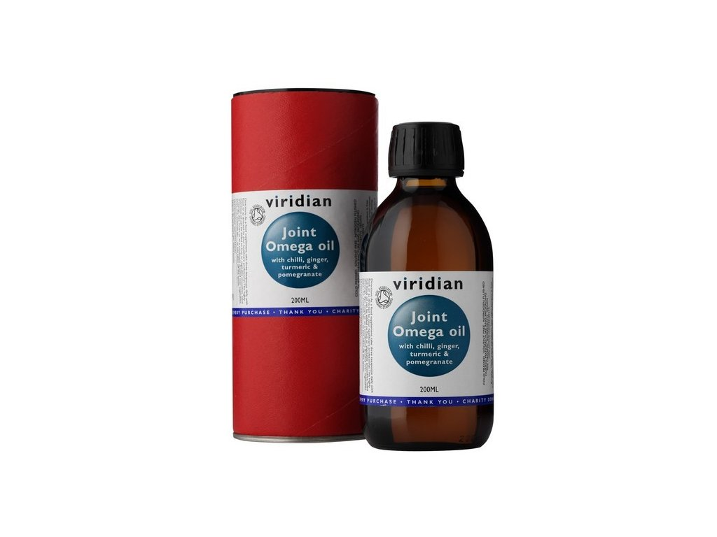 Viridian Joint Omega Oil 200 ml Organic