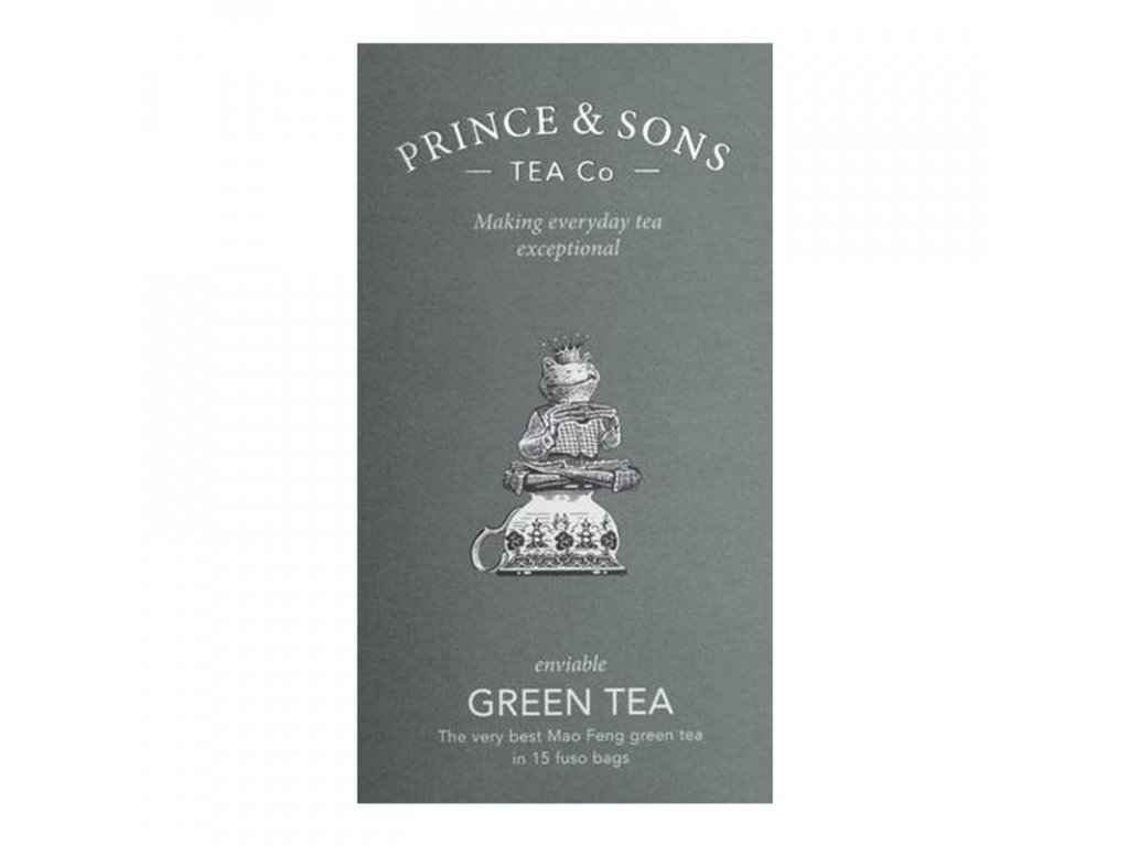 Prince & Sons Green Tea 15 sáčků (30g)