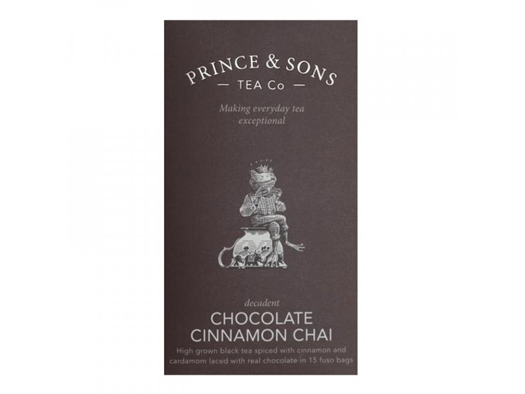 Prince & Sons Chocolate Cinnamon Chai 15 sáčků (37,5g)