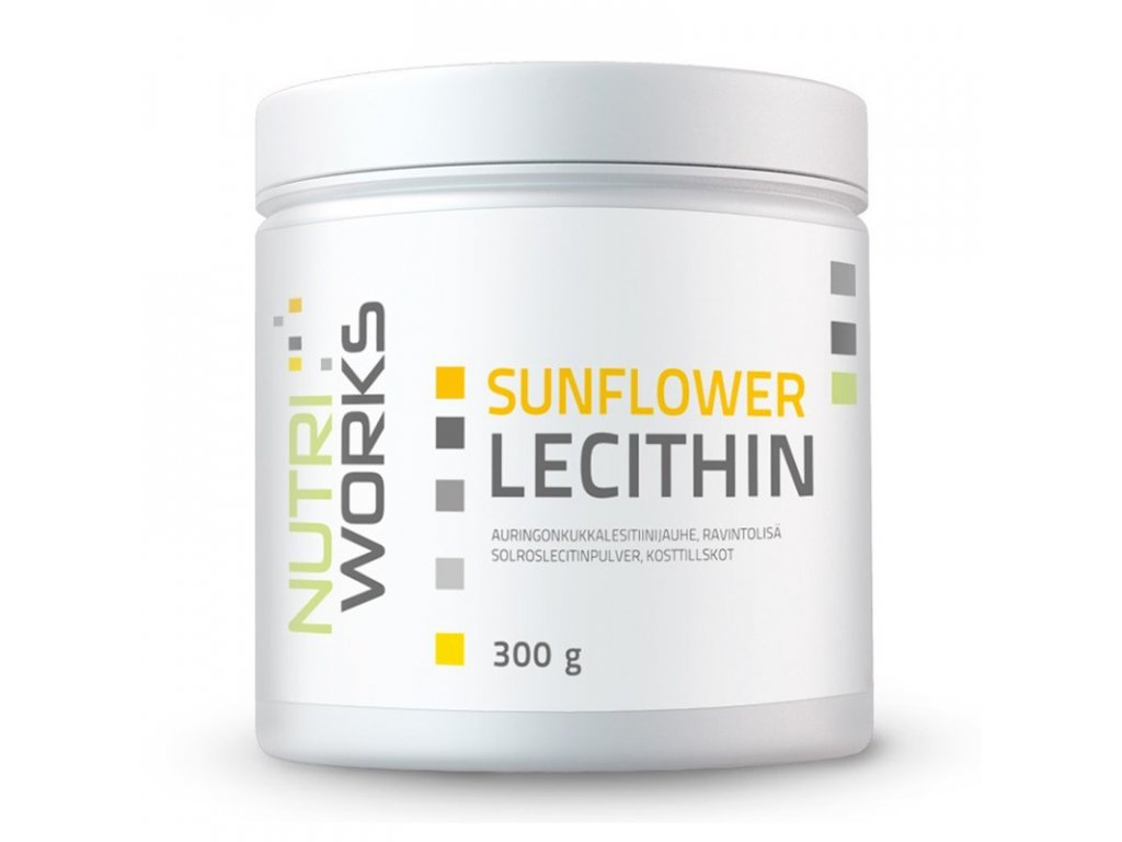 NutriWorks Sunflower Lecithin 300g