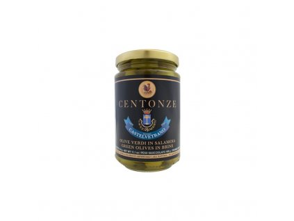 Centonze Green Olives in Brine (Olivy zelené) 180g
