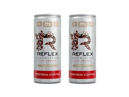 Reflex Protein Coffee 250 ml 1+1 ZDARMA