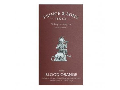 Prince & Sons Blood Orange 15 sáčků (37,5g)