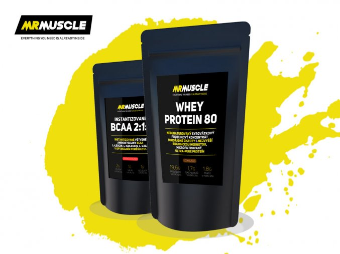 MR MUSCLE PROTEIN+BCAA2