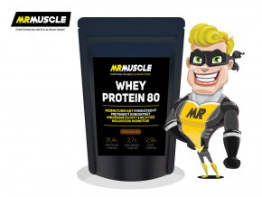 MR.MUSCLE WHEY PROTEIN 40G COKOLADA