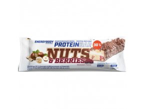 EnergyBody Tyčinka Nuts & Berries 50 g