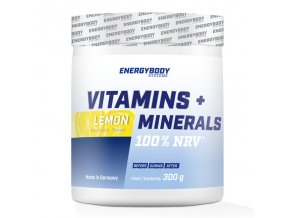 EnergyBody Vitamins + Minerals 300 g lemon