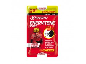 Enervit Gel One Hand s kofeinem 2 x 12,5 ml citrus