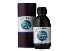 Viridian Omega 3:6:9 Oil 200 ml Organic