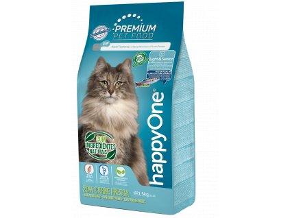 happyOne Gato Light&Senior 1,5kg br