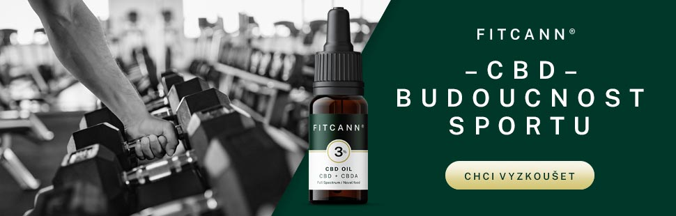 CBD olej Fitcann 6% 10 ml