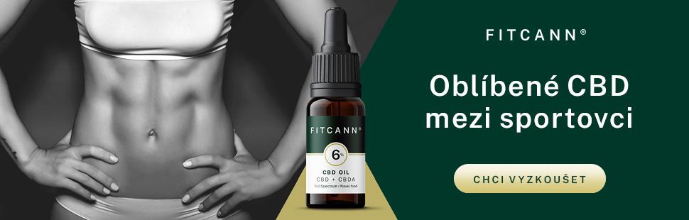 CBD olej Fitcann 6%