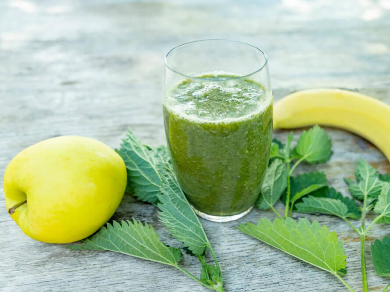 Jar je tu: Recept na detoxikačné žihľavové smoothie s medom