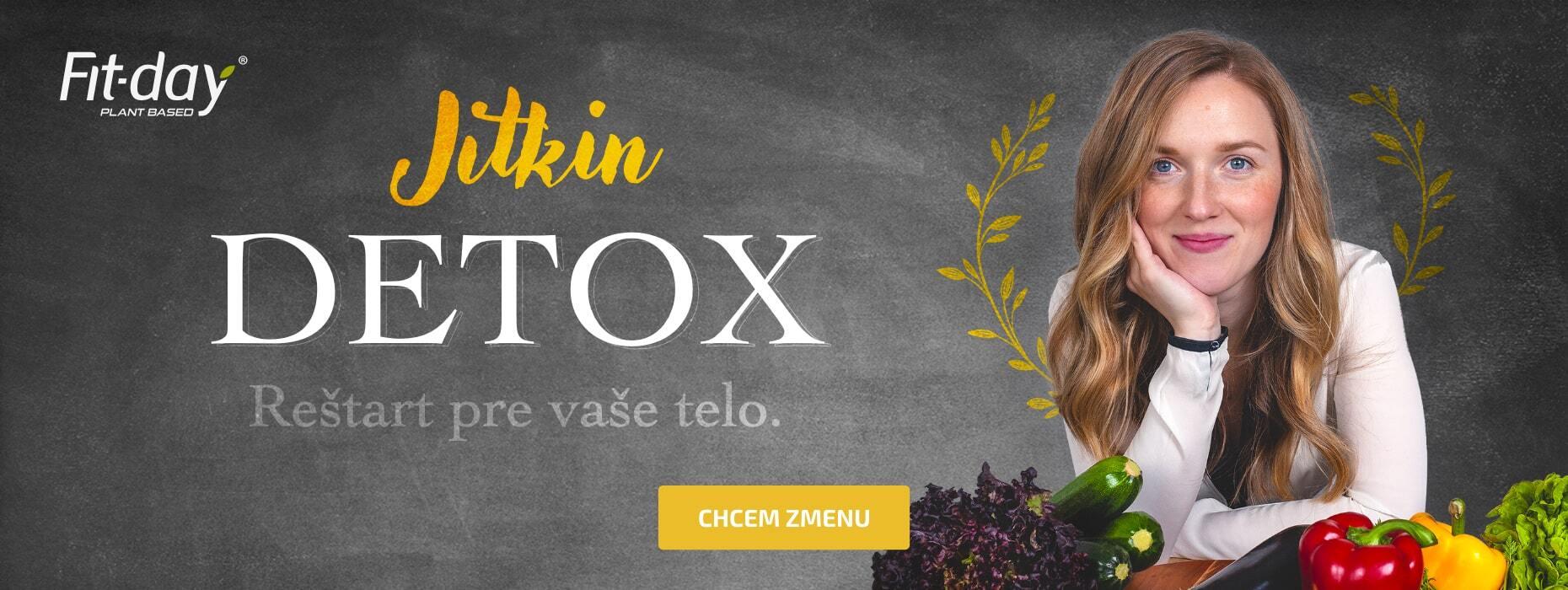 Predstavujeme Jitkin detox!