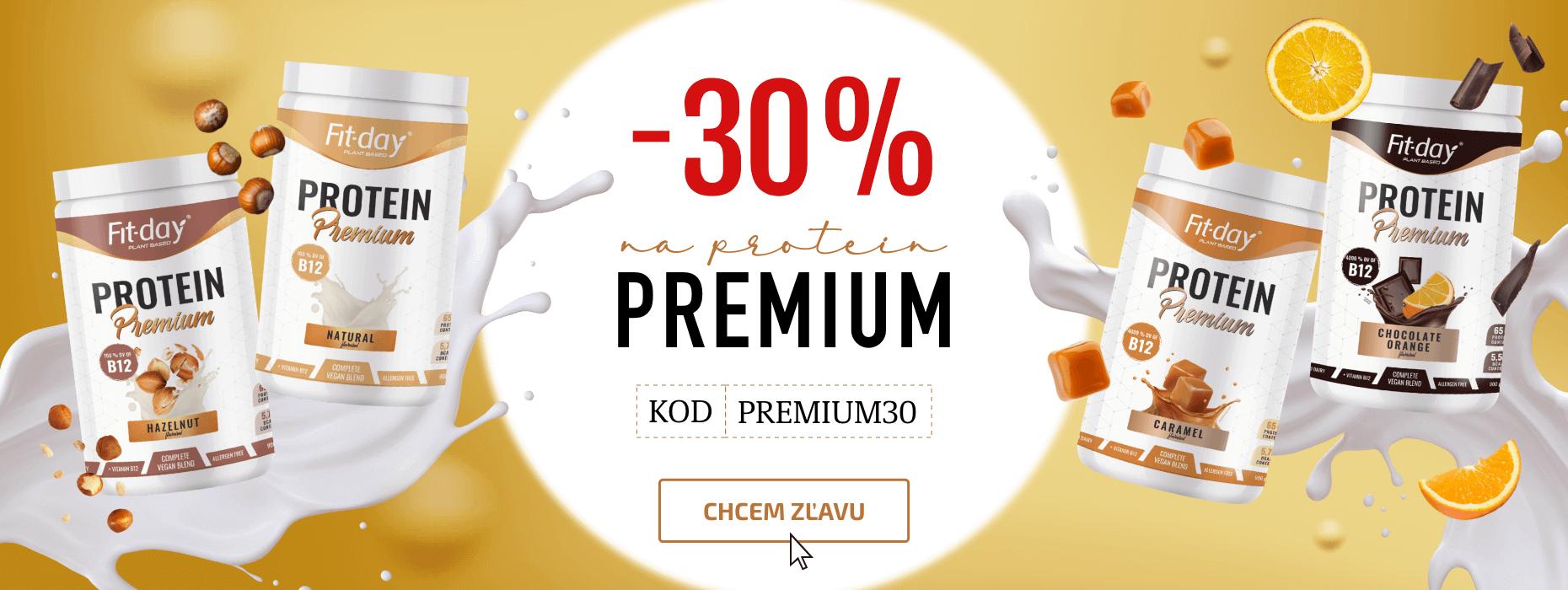 Získaj prémiový drink o 30% lacnejšie!