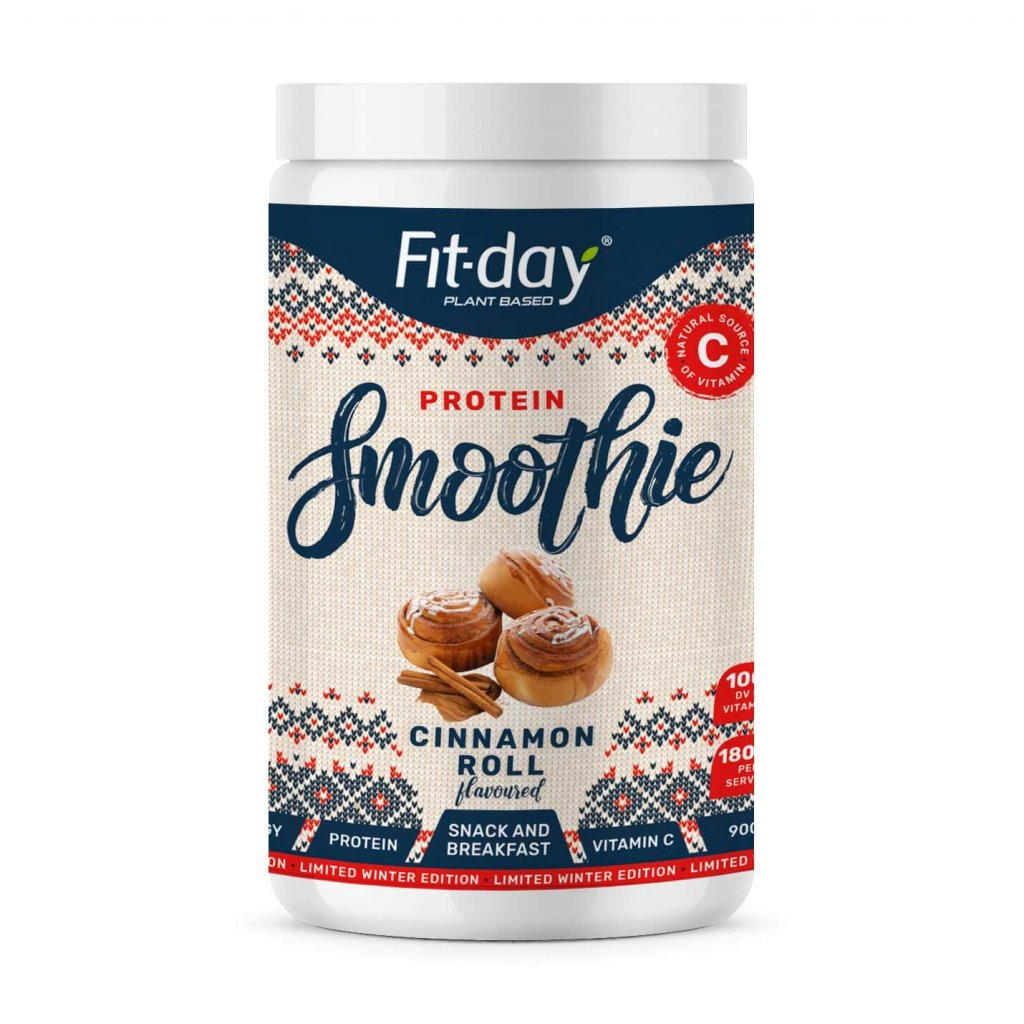 Fit day Limited winter edition cinnamon roll 900 g