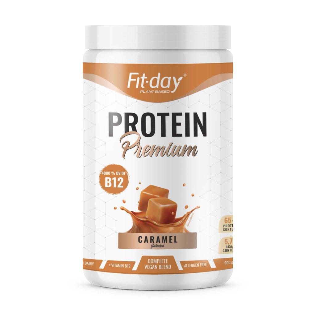 Fit day Protein premium karamel 900 g