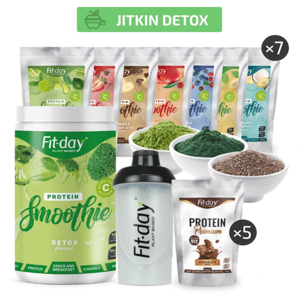 Fit day Jitkin detox plán na 20 dní SK