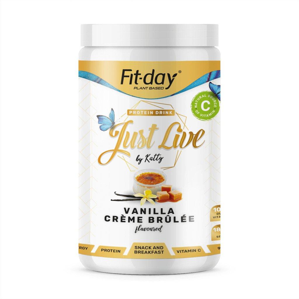 Fit day Just live vanilka creme brulee 900 g