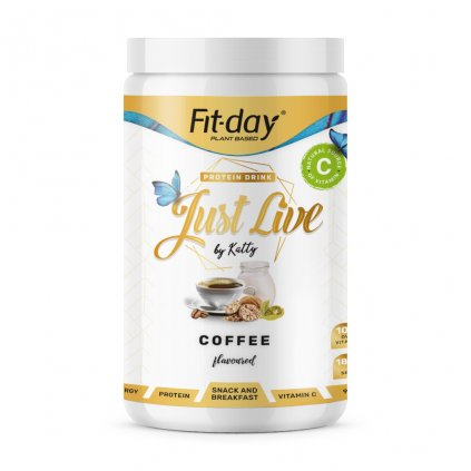 Fit day Just live káva 900 g