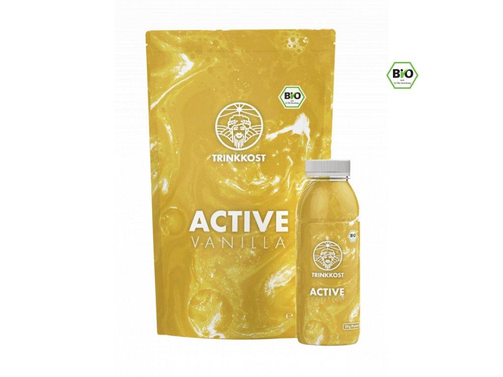 Active Vanilla Trinkkost Doypack Flasche 600x829