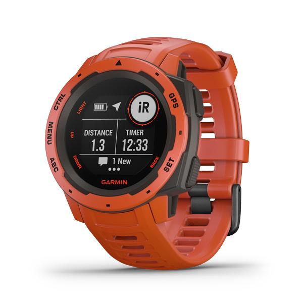 Nové outdoorové hodinky Garmin Instinct
