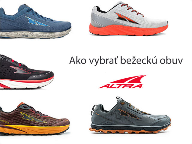 Ako vybrať bežeckú obuv Altra