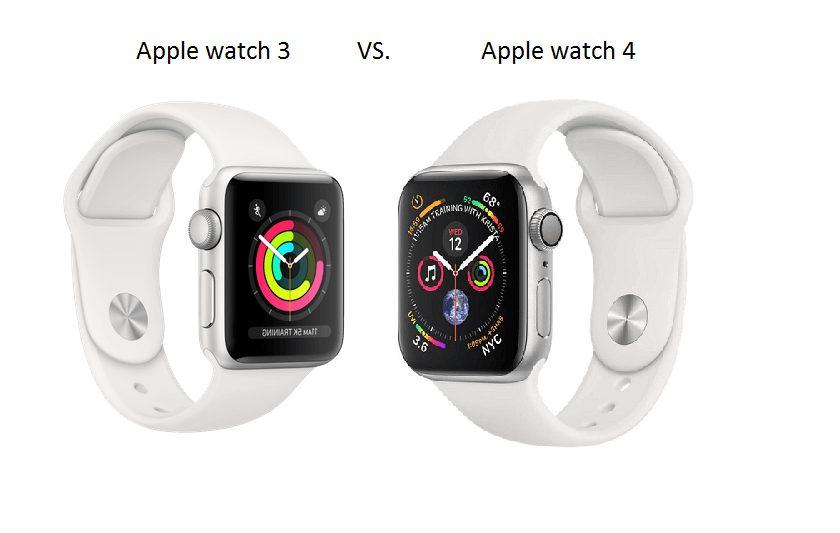 Apple watch 3 vs 4 – porovnanie modelov