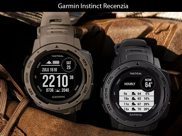 Recenzia: Garmin Instinct – odolné športové hodinky nielen na outdoor