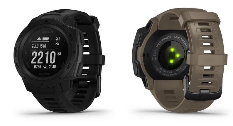 Novinka - outdoorové hodinky Garmin Instinct Tactical