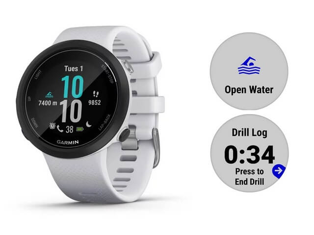 Nové plavecké hodinky Garmin Swim 2