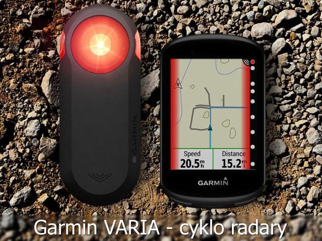 Cyklo radary Garmin Varia zlepšia bezpečnosť na ceste