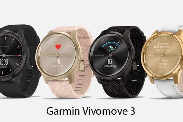 Klasický dizajn so smart funkciami - nový Garmin Vivomove 3