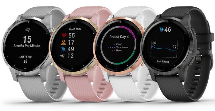 Nové fitness smart hodinky Garmin Vívoactive 4