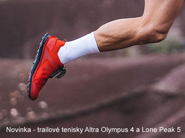 Nová trailová bežecká obuv od Altra - Olympus 4 a Lone Peak 5