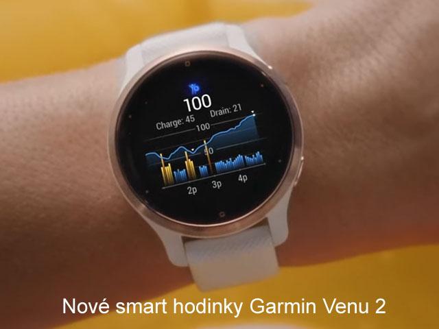 Garmin Venu 2 - nové ešte lepšie športové smart hodinky