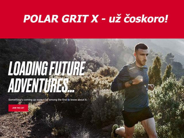Nové športové hodinky Polar Grit X