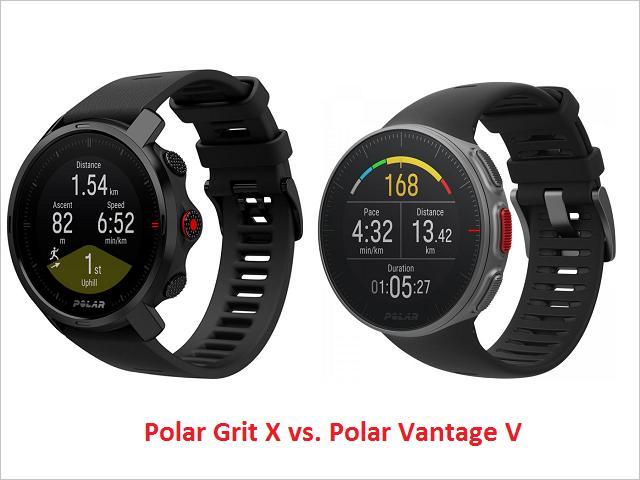 Polar Grit X vs. Vantage V - porovnanie funkcií