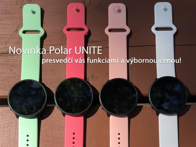 Polar Unite - fitness hodinky pre nenáročných