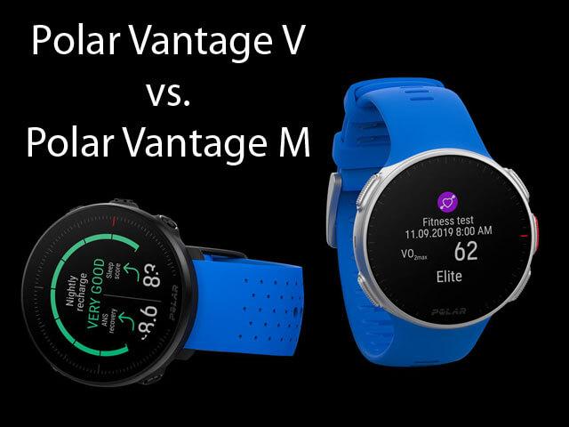 Polar Vantage V vs. Polar Vantage M - porovnanie športtesterov