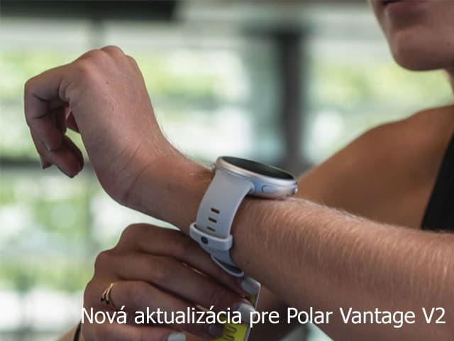 Polar Vantage V2 - aktualizácia 12-2020