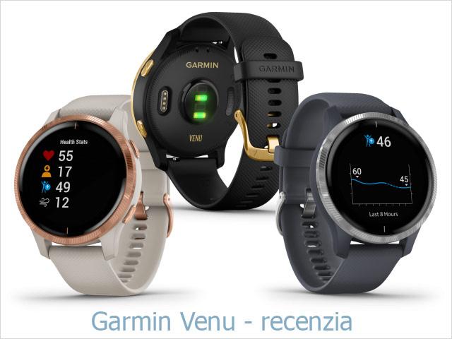 Recenzia: Garmin Venu - športové smart hodinky