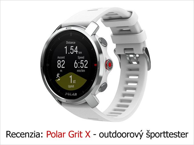 Recenzia: Polar Grit X - outdoorový športtester