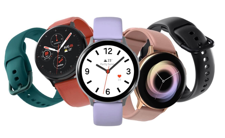 Nové smart fitness hodinky Samsung Galaxy Watch Active 2