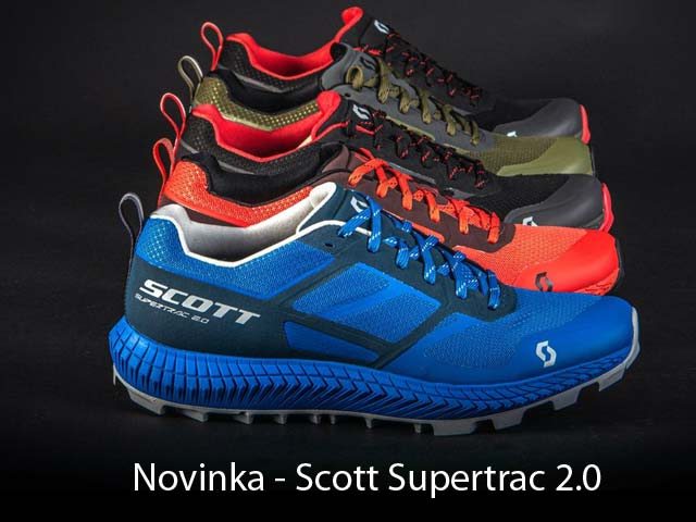 Nová trailová obuv Scott Supertrac 2.0 - ovládni traily
